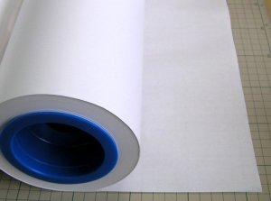 画像1: ホワイトCAD 薄い50番 100m