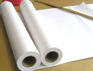 画像1: ホワイトCAD用紙厚目 61巾 45m 2本組