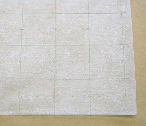 画像1: 不織布格子線入り用紙95巾 100m